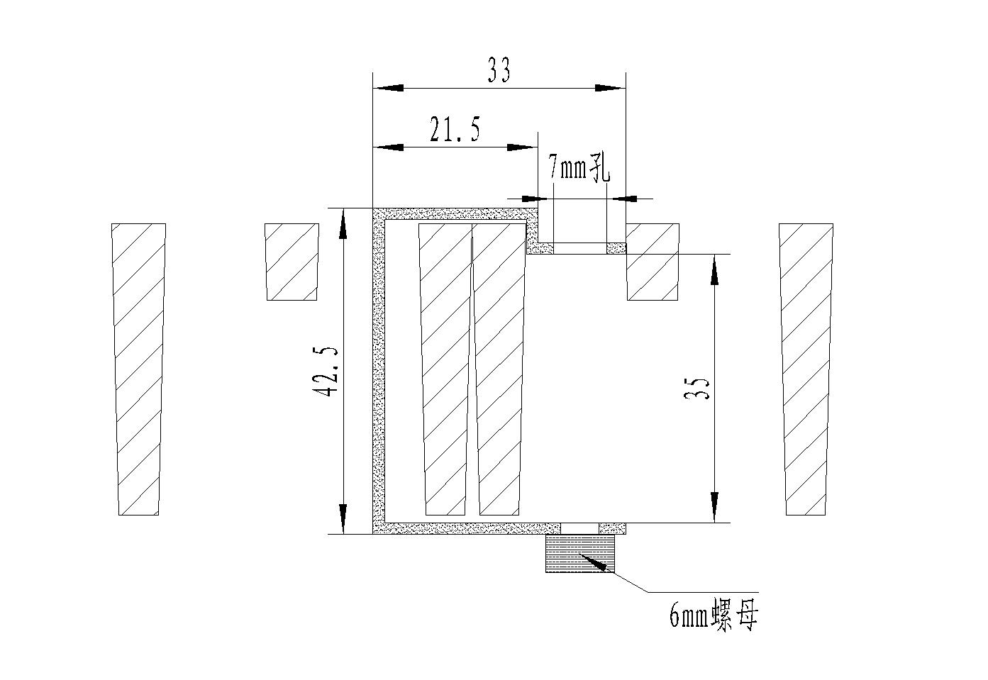 2020/4040 38 十字槽