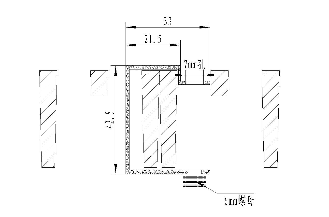 2020/4040 40 十字槽