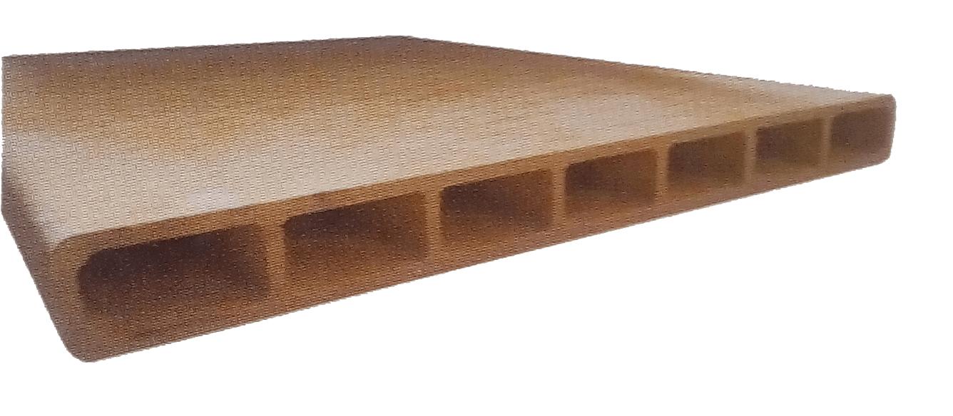 Seven hole hollow board