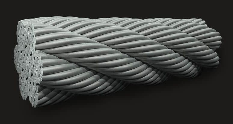 绿盟GB钢丝绳7x19