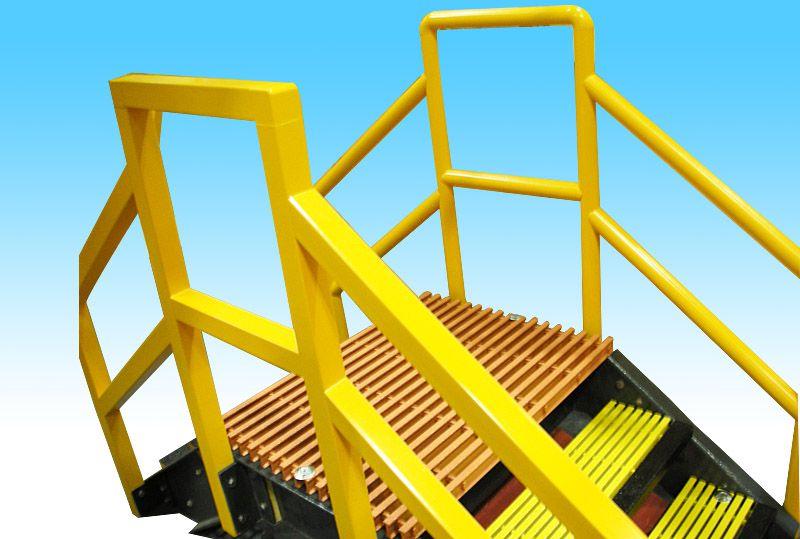 Greenlogy TEC 护栏和扶手产品
