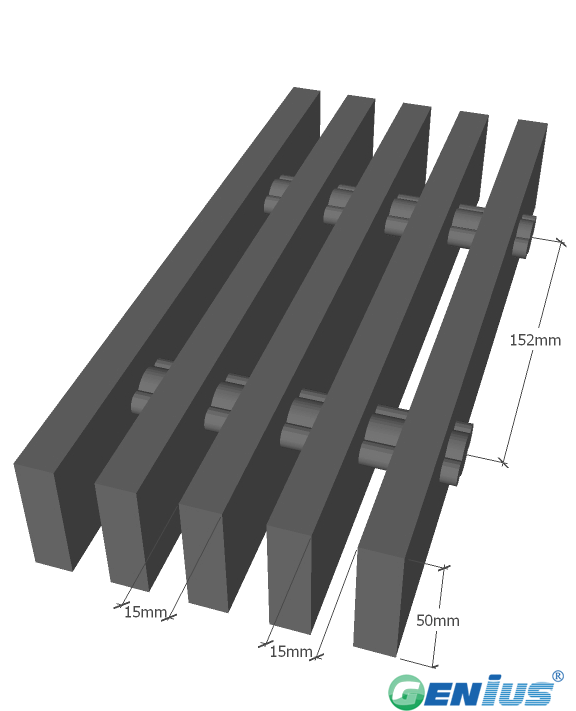拉挤格栅 HL-5020