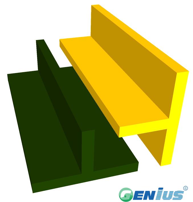 结构型材-T型钢(乙烯基)