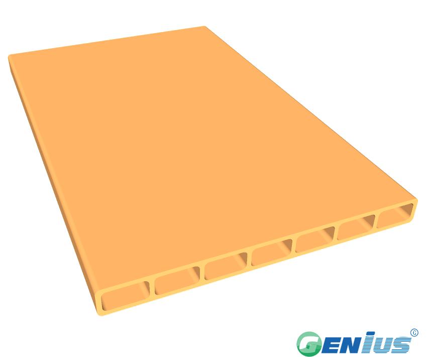 结构型材-七孔空心板(乙烯基)