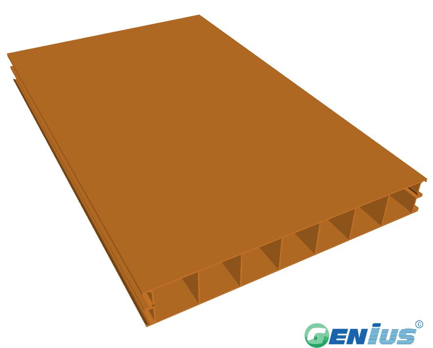 结构型材-七孔隔墙板(乙烯基)