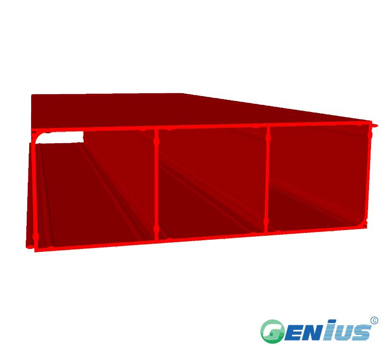 结构型材-三孔空心板(乙烯基)