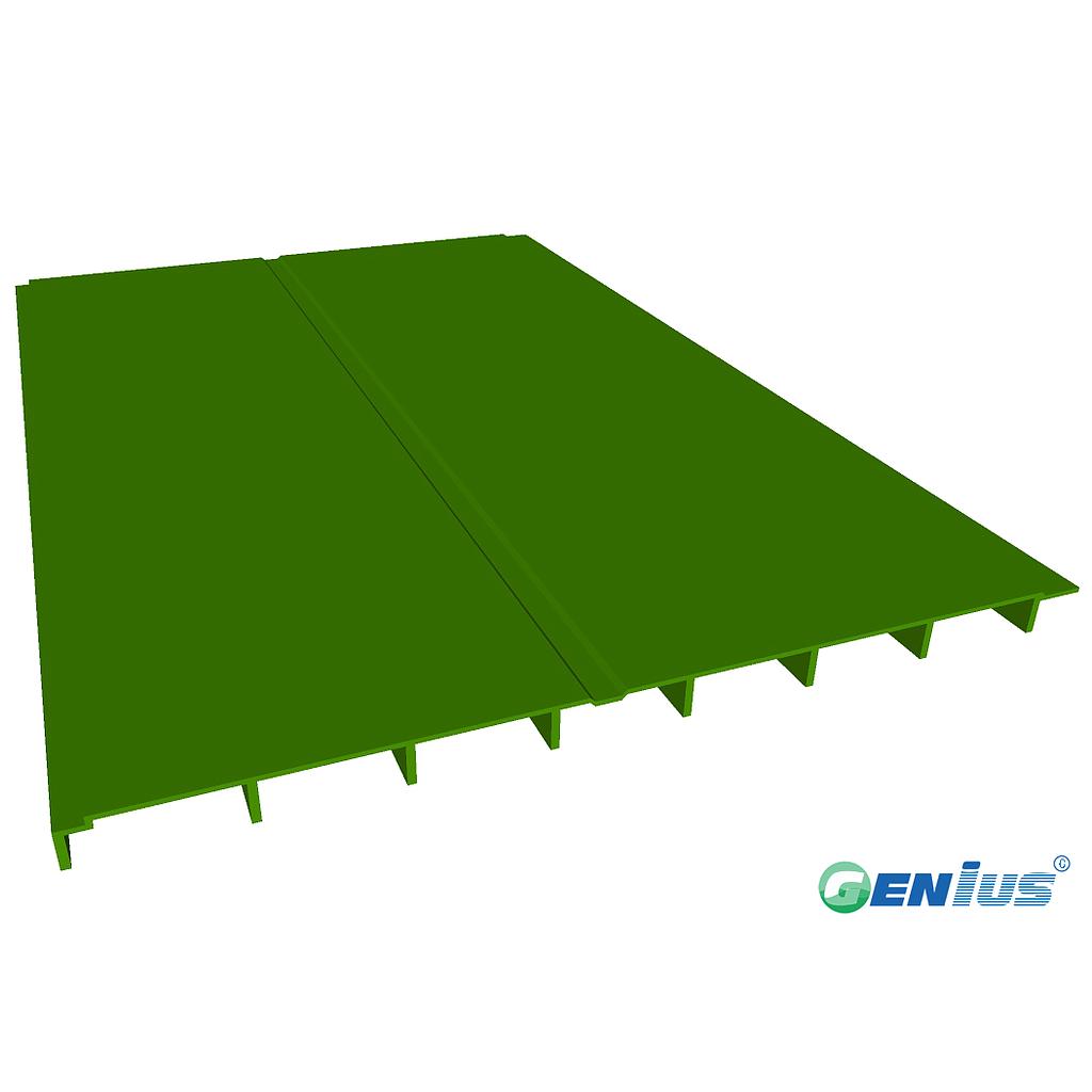 结构型材-冷却塔甲板(乙烯基)