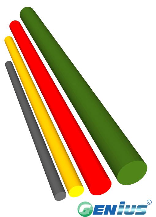 结构型材-实心圆棒(乙烯基)