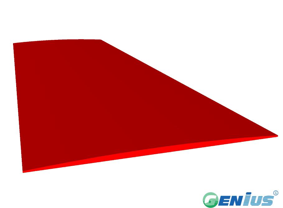 结构型材-弧度平条(乙烯基)