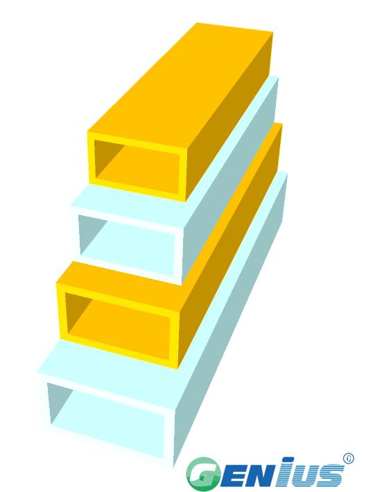 结构型材-扁管(乙烯基)