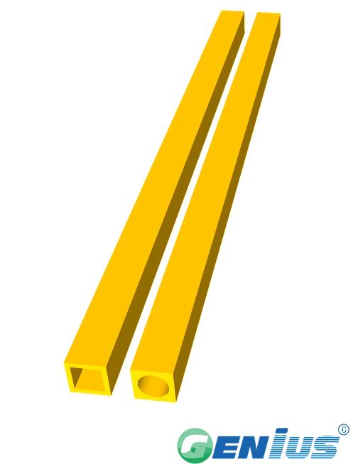 结构型材-方管(乙烯基)