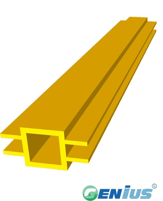结构型材-方管异型材(乙烯基)