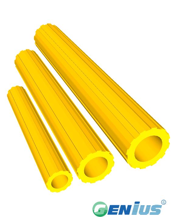 结构型材-梅花管 (乙烯基)