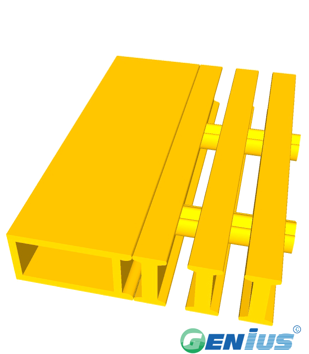 结构型材-楼梯踏板扁管 (间苯)