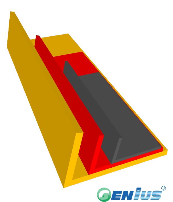 结构型材-钩子板(乙烯基)